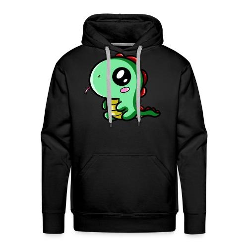 Dinosaure Kawaii - Sweat-shirt à capuche Premium pour hommes