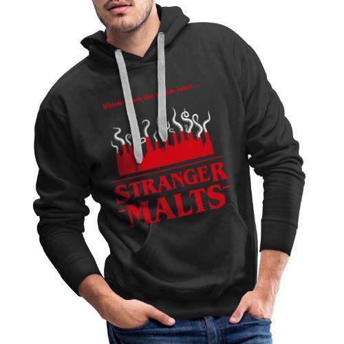 """""""Malt meets Movie""""-Series Part 2: STRANGER MALTS - Männer Premium Hoodie"""