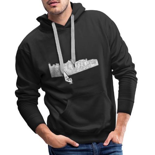 Bolsena Surfer - Männer Premium Hoodie