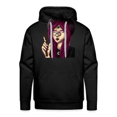 Sorcière violette - Sweat-shirt à capuche Premium pour hommes