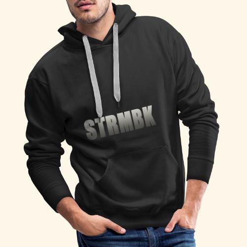 KORTFILM STRMBK LOGO - Mannen Premium hoodie