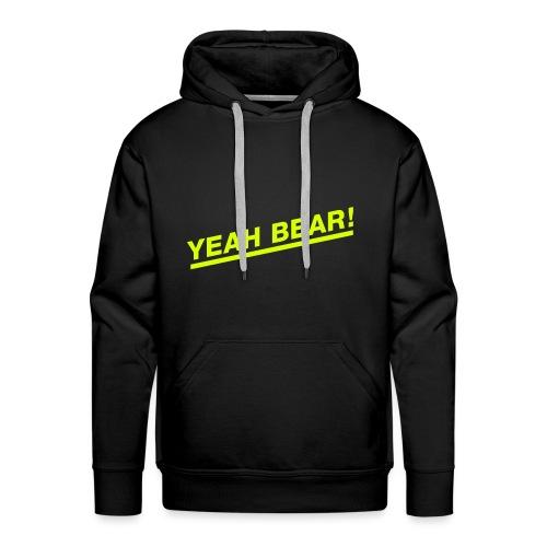 Yeah Bear! - Männer Premium Hoodie