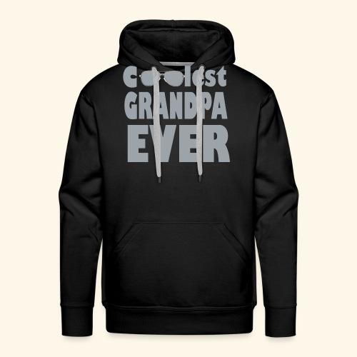 Nonno - Felpa con cappuccio premium da uomo