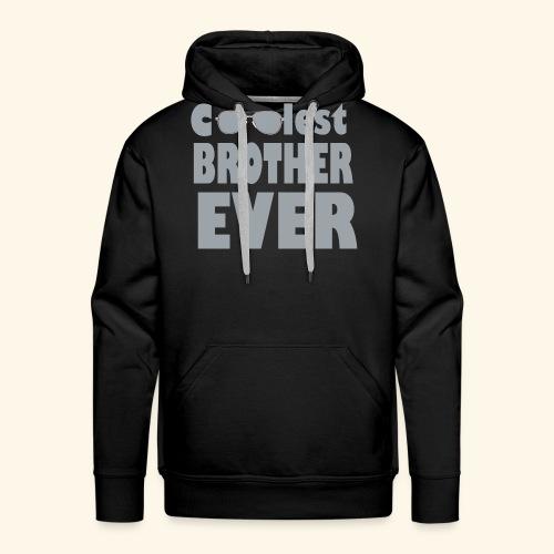 Fratello migliore - Felpa con cappuccio premium da uomo