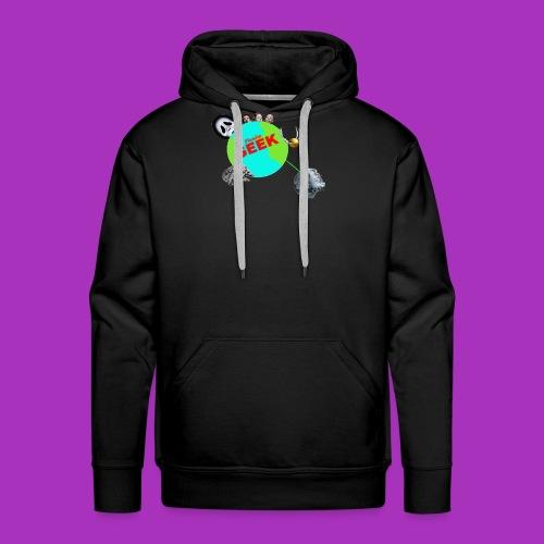Planète GEEK - Sweat-shirt à capuche Premium pour hommes