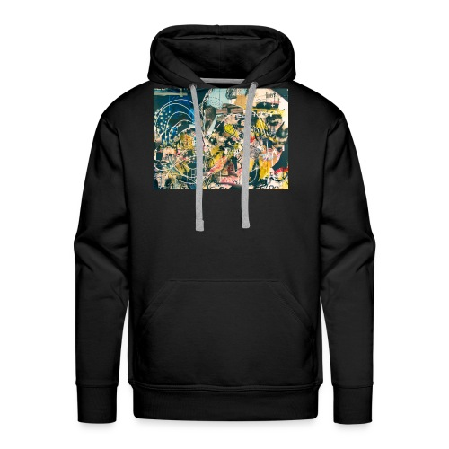art graffiti abstract vintage - Sudadera con capucha premium para hombre