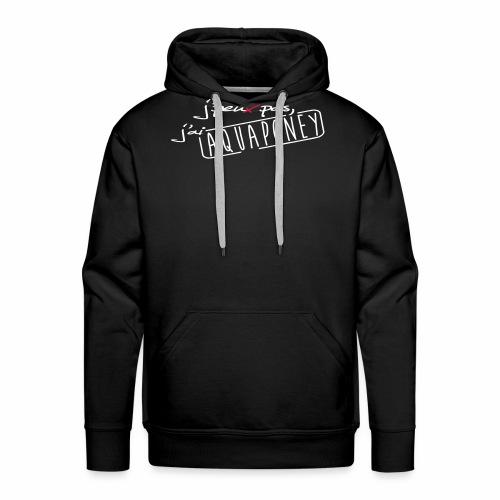AQUAPONEY - Sweat-shirt à capuche Premium pour hommes