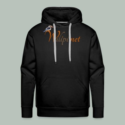 logo wilipi - Sweat-shirt à capuche Premium pour hommes