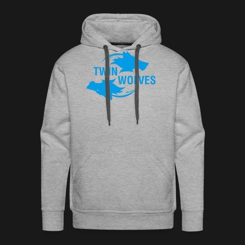 Twin Wolves Studio - Felpa con cappuccio premium da uomo
