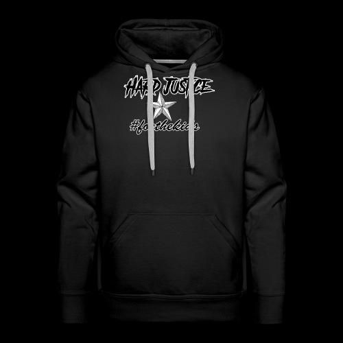 Hard Justice #ftk Black - Men's Premium Hoodie