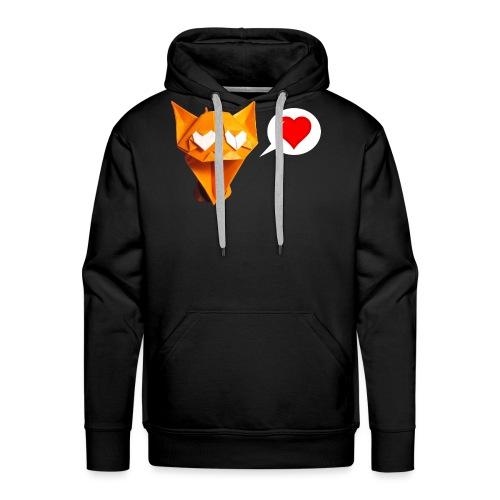 Adorable Cat Origami - Cat - Gato - Gatto - Katze - Men's Premium Hoodie