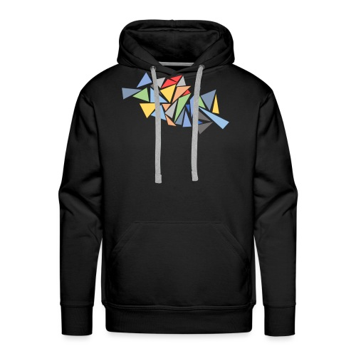 Modern Triangles - Men's Premium Hoodie