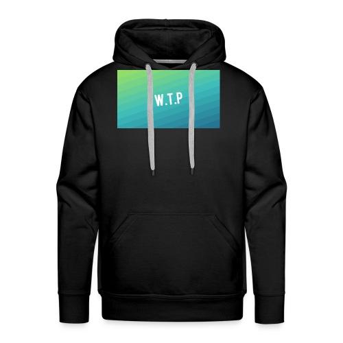 backgrounder 1 - Bluza męska Premium z kapturem