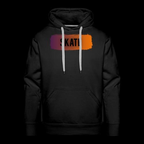 skate brush - Mannen Premium hoodie