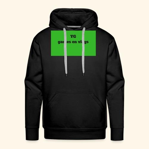 YGgames en vlogs - Mannen Premium hoodie