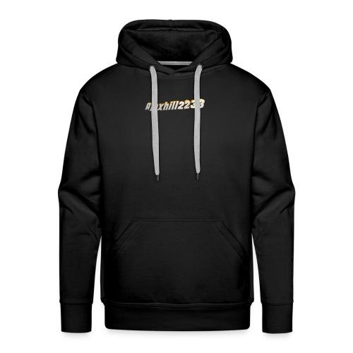 Alexhill2233 Logo - Men's Premium Hoodie
