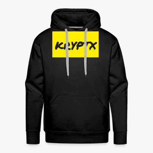 kryptx - Sweat-shirt à capuche Premium pour hommes