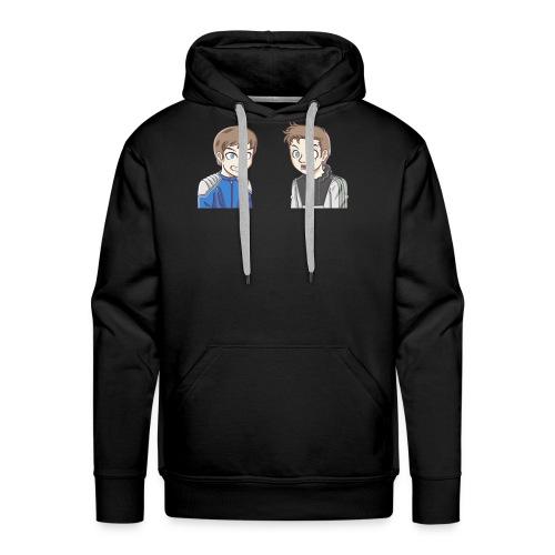 BAD PANDA & EPIC MONSTER - Sweat-shirt à capuche Premium pour hommes