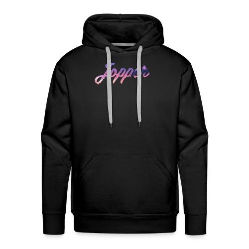 Paint logo jopper - Mannen Premium hoodie