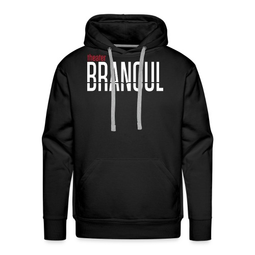 Branoul Logo rood wit - Mannen Premium hoodie
