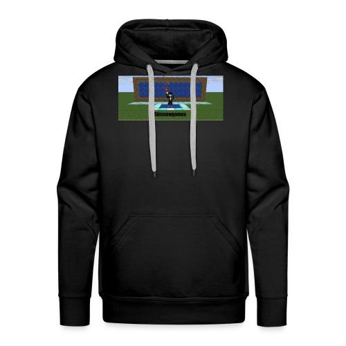 SkiSnowGames - Mannen Premium hoodie