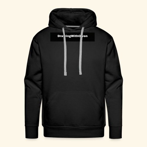 drawing with owen products - Mannen Premium hoodie