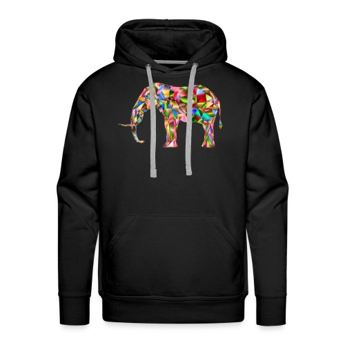 Gestandener Elefant - Männer Premium Hoodie