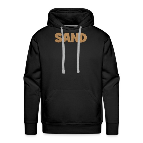 Sand Strand T-Shirt - Männer Premium Hoodie