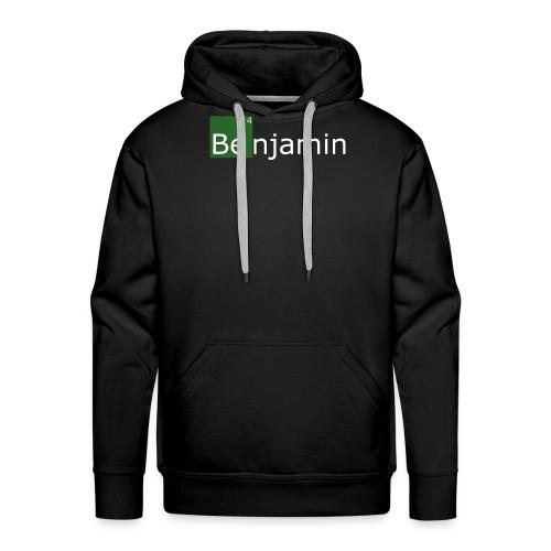 benjamin - Sweat-shirt à capuche Premium pour hommes
