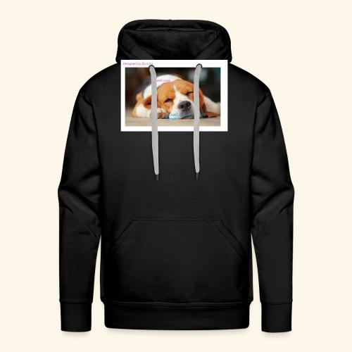 Fait avec amour - Sweat-shirt à capuche Premium pour hommes