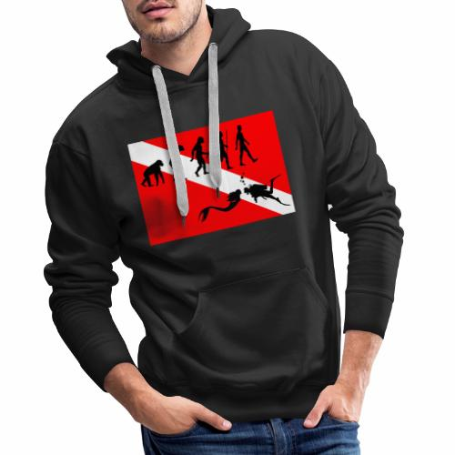 Scuba Evolution - Men's Premium Hoodie