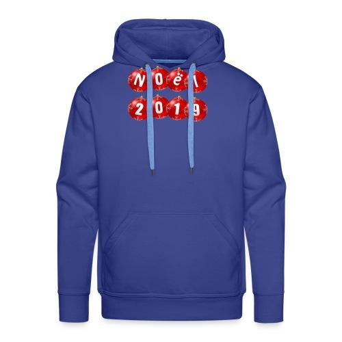 noël 2019 - Sweat-shirt à capuche Premium pour hommes