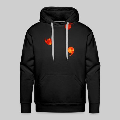Genjustu brûlant - Sweat-shirt à capuche Premium pour hommes