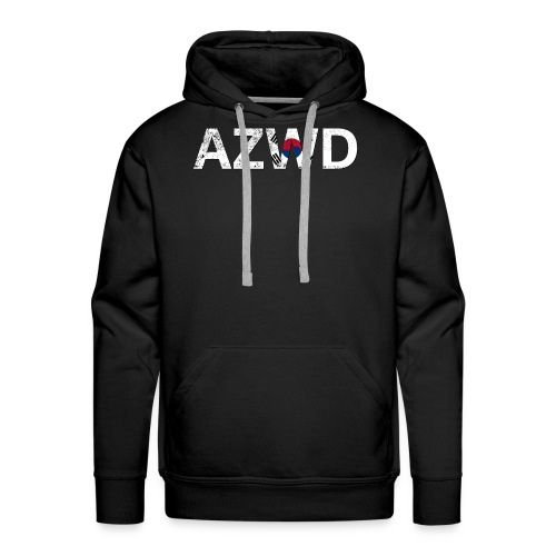AZWD South Korea - Sweat-shirt à capuche Premium pour hommes