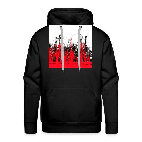 rot - schwarz - Männer Premium Hoodie
