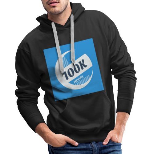 100K HOOPS NEW - Sweat-shirt à capuche Premium pour hommes