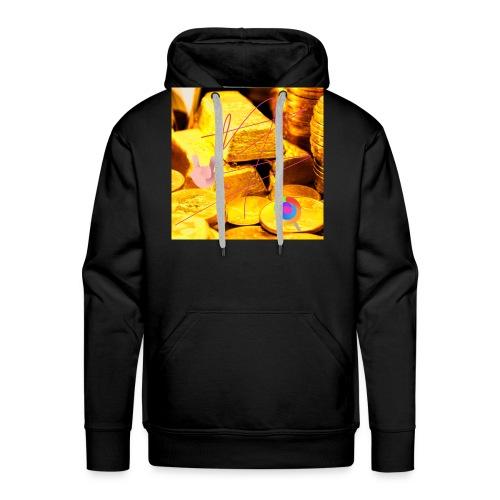 oro nelle vene - Felpa con cappuccio premium da uomo