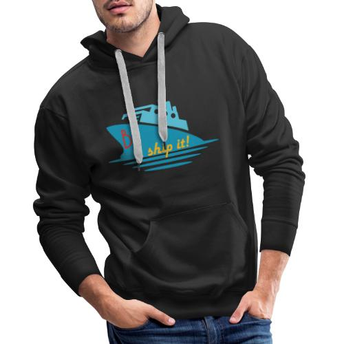 Welcome aboard the BL Ship! - Men's Premium Hoodie