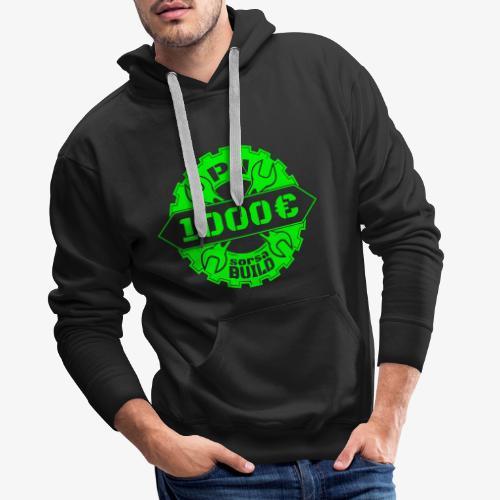1000sorsa - Sweat-shirt à capuche Premium pour hommes
