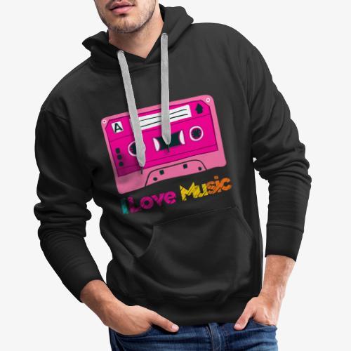 Cinta 3 - Sudadera con capucha premium para hombre