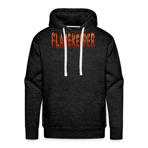 flamekeeper name logo - Mannen Premium hoodie