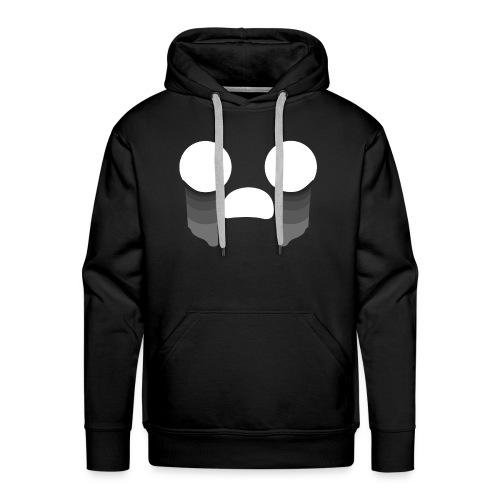 Visage triste - Sweat-shirt à capuche Premium pour hommes