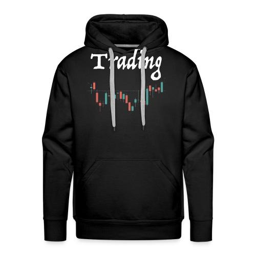 Trading lovers T-shirt - Felpa con cappuccio premium da uomo