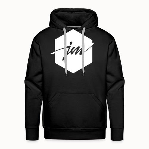 JMclothing | Blank White - Premiumluvtröja herr