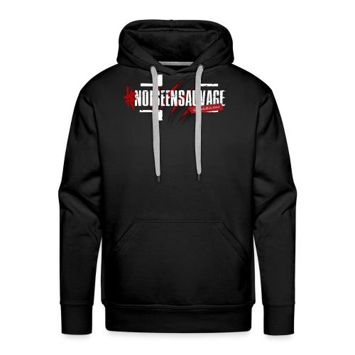 #NOISEENSAUVAGE - Sweat-shirt à capuche Premium pour hommes