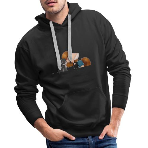 Fursona and Teddy - Men's Premium Hoodie