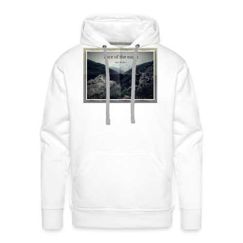 face of the earth - Mannen Premium hoodie