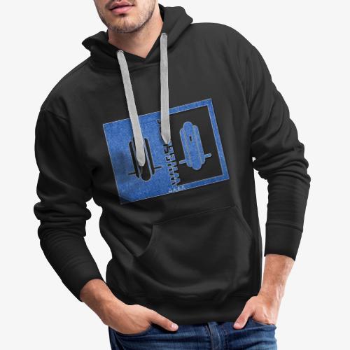 WHEELERS 2 - Sweat-shirt à capuche Premium pour hommes