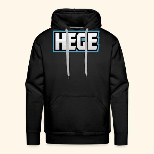 Hegeblau - Männer Premium Hoodie