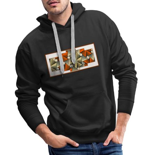 Abstract pattern - Men's Premium Hoodie